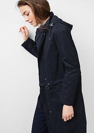 2-in-1 mantel van twill