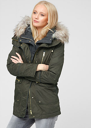 2-in-1 outdoor parka from s.Oliver