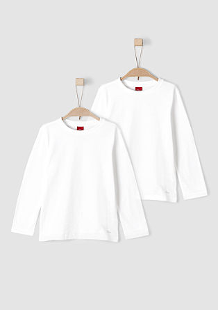 2er Pack Basic-Longsleeves