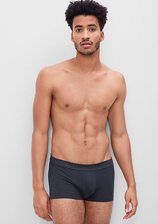 2er-Pack Low Cut-Boxer aus Jersey