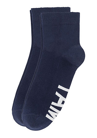 2er-Pack Statement-Socken