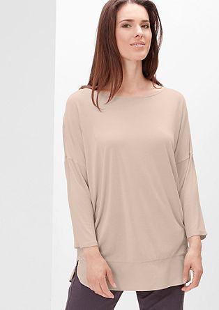 3/4-Arm-Shirt mit Blusen-Details
