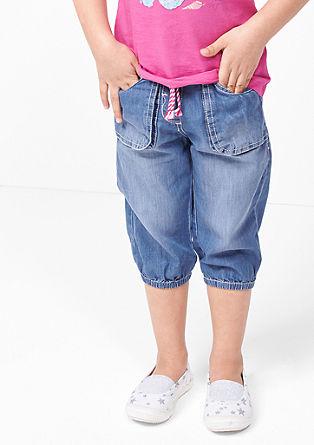 3/4-Jeans mit lockerem Sitz
