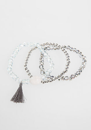 3-piece bracelet set from s.Oliver