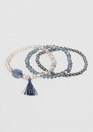 3-piece bracelet set from s.Oliver