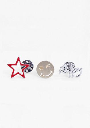 3er-Pack Pins