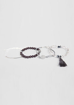 4-piece bracelet set from s.Oliver