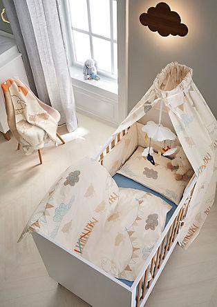 4-teiliges Babybett-Set