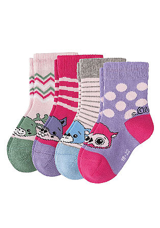 4er-Pack Kindersocken