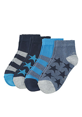 4er-Pack Kurzsocken