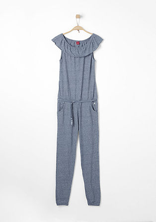 7/8 jumpsuit with bardot neckline from s.Oliver