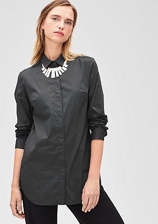 Lange blouse met stretch