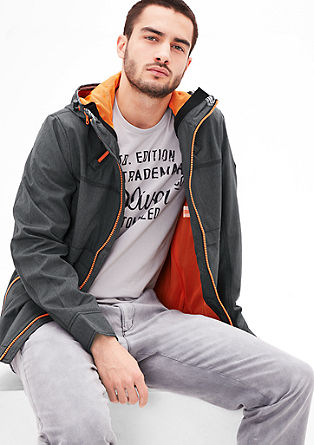 Lightweight jacket with contrasting lining from s.Oliver