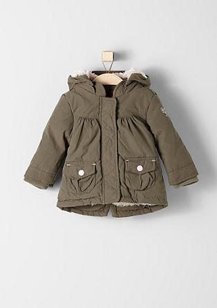 Aangenaam zachte en warme winterjas