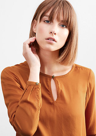 Airy O-shaped blouse from s.Oliver