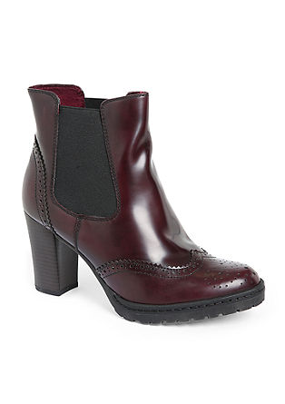 Ankle Boots im Brogue-Design