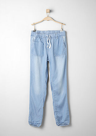 Ankle-length summer jeans from s.Oliver