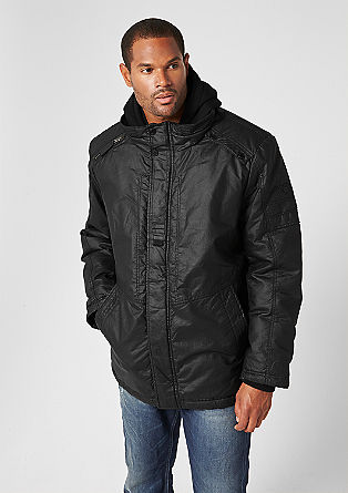 Anorak jacket in a layered look from s.Oliver