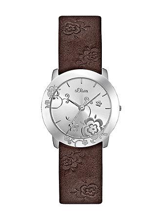 Armbanduhr im Flowerlook