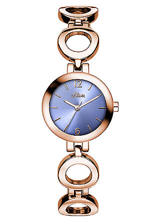 Armbanduhr mit Gliederband