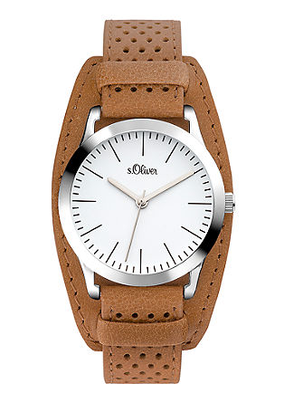 Armbanduhr mit Perforierung