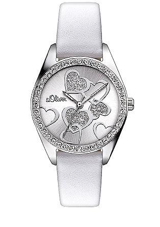 Armbanduhr mit Strass