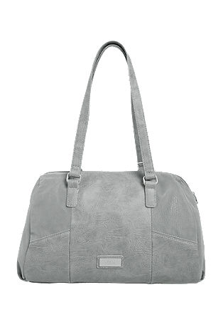 Baguette bag in a mix of textures from s.Oliver