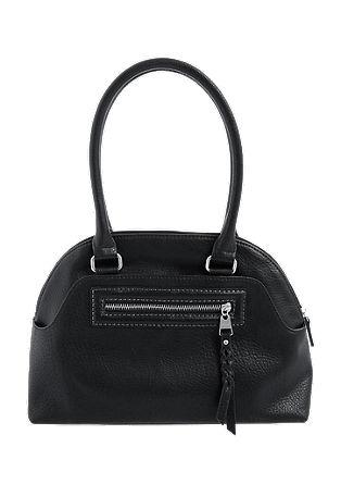 Baguette Bag mit Flecht-Detail