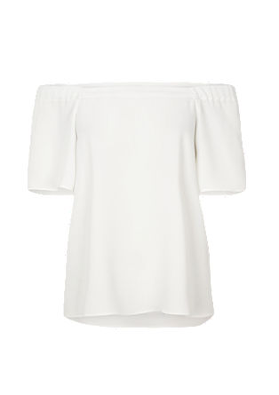 Bardot blouse in a softly draped design from s.Oliver
