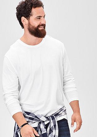 Basic majica dolg rokav z okroglim izrezom