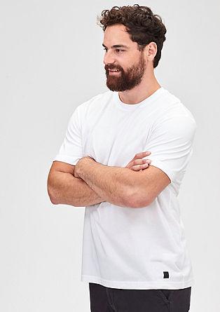 Basic-Shirt mit Rundhals