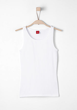 Basic stretch tank top from s.Oliver