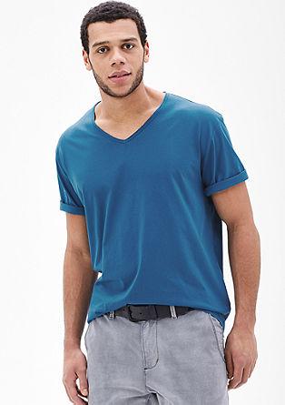 Basic V-neck T-shirt from s.Oliver