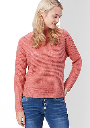 Batwing jumper with mohair from s.Oliver