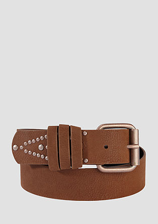 Belt with studs from s.Oliver