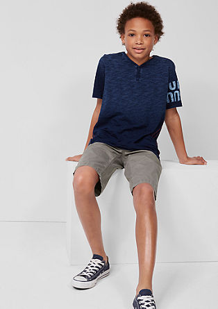 Benno: chino bermuda hlače s spranim učinkom