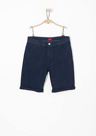 Benno: chino Bermudas with a wash effect from s.Oliver