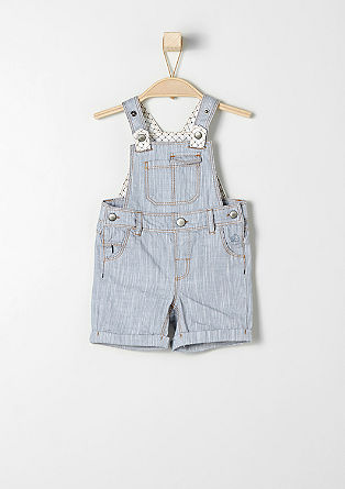 Bermuda dungarees in twill from s.Oliver