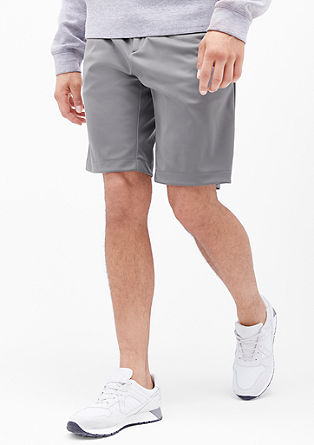 Bermuda hlače athleisure iz materiala dobby