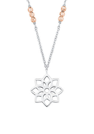 Bicolor-Halskette 'Blume'