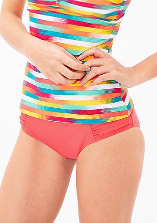 Bikini hlačke slip z naborki