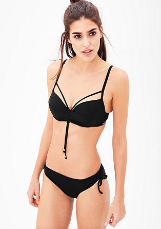 Bikinitop met cut-outs