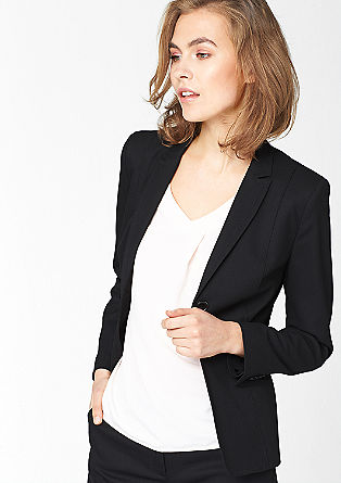 Blazer with a striking woven texture from s.Oliver