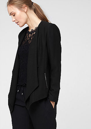 Blazer with an elongated front from s.Oliver