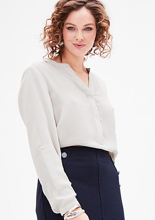 Blouse top in chiffon from s.Oliver