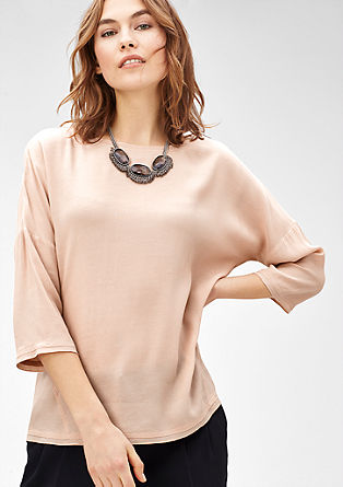Blouse top in nude tones from s.Oliver