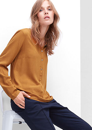 Blouse with a patterned texture from s.Oliver