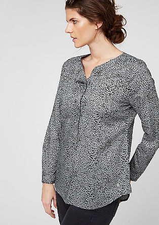 Blouse with a printed pattern from s.Oliver