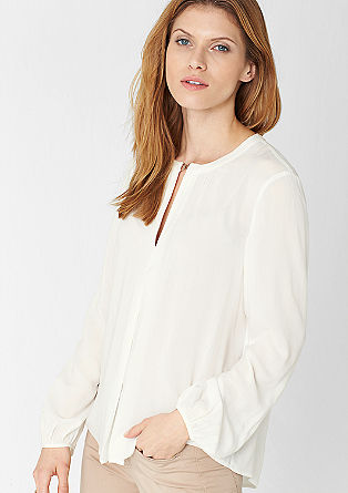 Blouse with a special neckline from s.Oliver