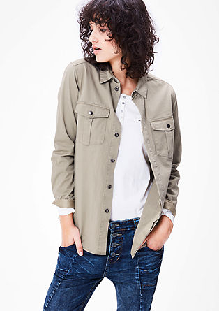 Bluse im Urban-Safari-Style